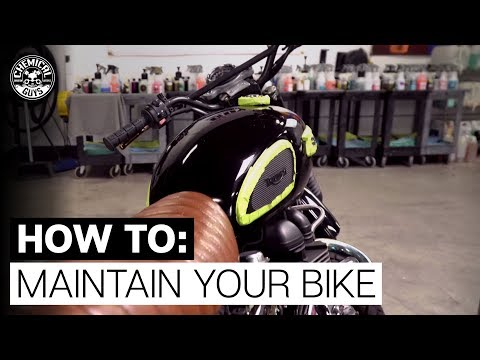 How To Maintain Your Bike! - Chemical Guys