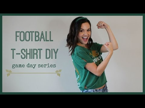 Football T-Shirt DIY | Game Day Series