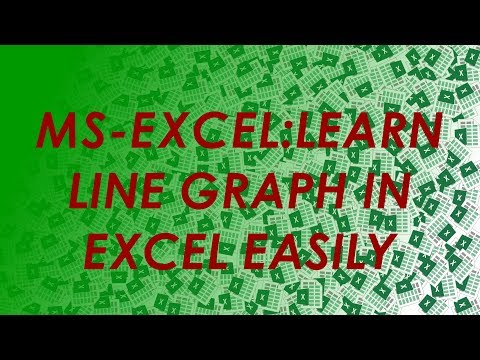 How To Use: Excel Excel Line Graph/Chart -SIMPLIFIED