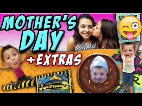 BUTT-iful MOTHERS DAY / Family Festival Fails & Falls & Shawns Sunny Funny Face (FUNnel Vision Vlog)