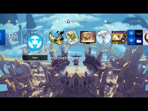 Brawlhalla Asgard Dynamic Theme PS4