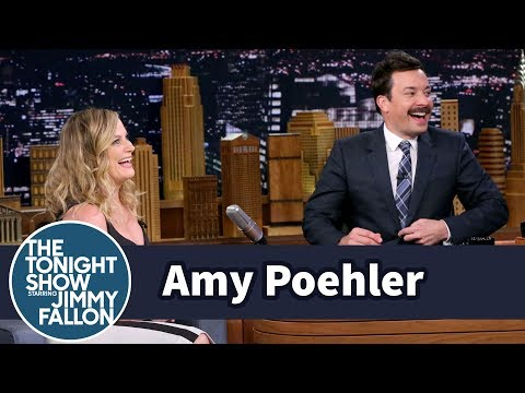 Amy Poehler Helps Jimmy Pick a Summer Look
