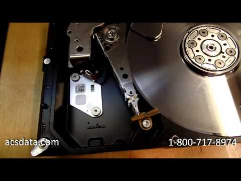 Damaged Platters Make This Hard Drive Recovery Impossible