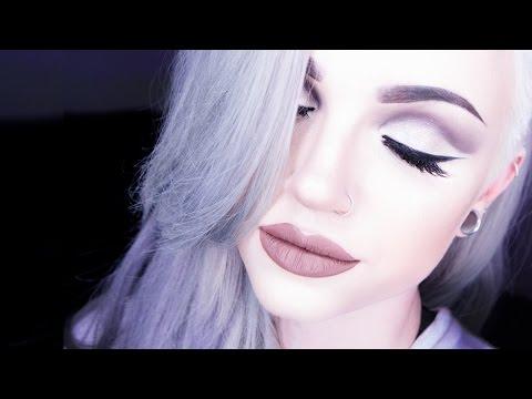 Industrial-toned Full Face Glam Makeup Tutorial