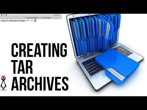 Create tar archives