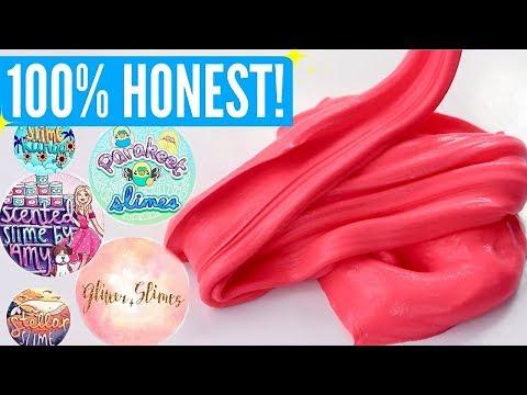100% HONEST Famous Instagram Slime Shop Review! Famous US Slime Package Unboxing