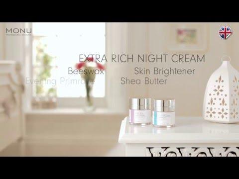 MONU Night Creams   - How to use - MONU Skincare advice & tips