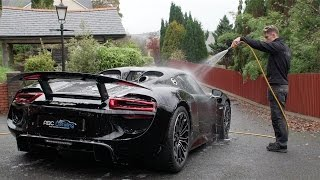 ABC Detailing - Porsche 918 Spyder - Correction Detail
