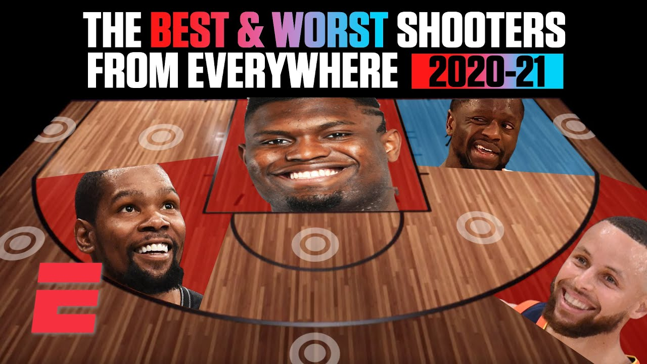 The best and worst shooters of the 2020-21 NBA season from everywhere on the floor | NBA on ESPN