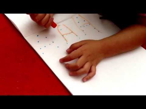 Toddler Genius ♥| Riley Learning to Write Letters!