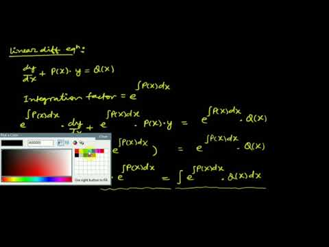 Lecture 4: Linear differential equation and problems by Shobhit Sir
