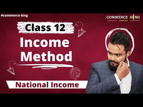 #51, Income method of calculating national income (Class 12 macroeconomics)