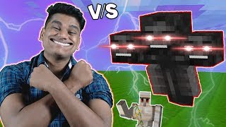 "I Summoned ""WITHER"" but He is ""BALAK"" [Minecraft - Part 33]"