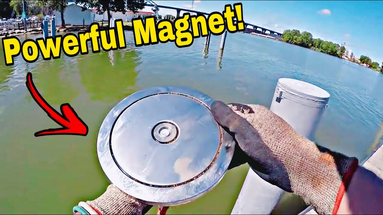 Magnet Fishing With The Most Powerful Magnet EVER Made - You Won't Believe What I Found!!!