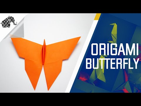 Origami - How To Make An Origami Butterfly