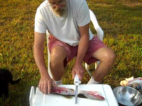 Cleaning Largemouth Bass, Part 1