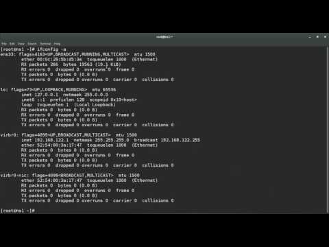 Command to check list of Ethernet interfaces in RHEL or CentOS or Unix
