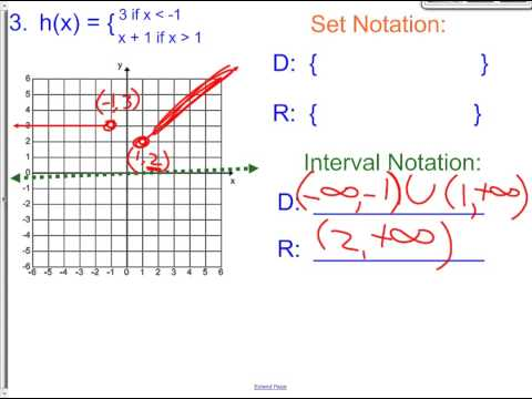 2 6 Day 2 B Domain and Range with Piecewise Functions
