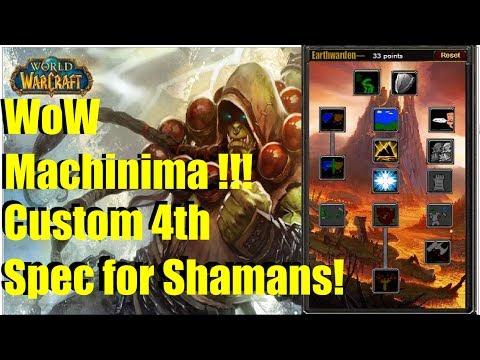 What if Shamans had a tank spec in Vanilla WoW? (World of Warcraft Machinima)