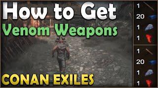 Conan Exiles - How to make new arrows?