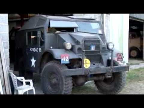 Military vehicles restored