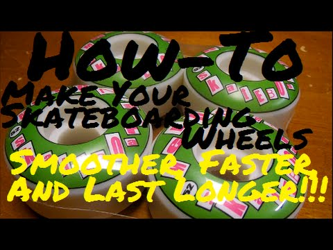 How-To Make Your Skateboard Wheels Smoother, Faster, & Last Longer!!!