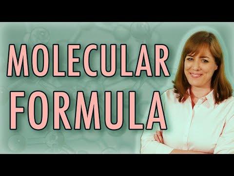 Molecular Formula  | Chemistry | Homework Help