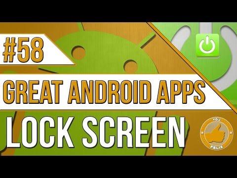 Android Apps: #58 Lock Screen (Nexus 7 2013, Samsung Galaxy S4)