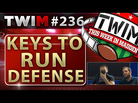 Madden 18 Gameplay | How to Check Run Fits | Madden 18 Tips
