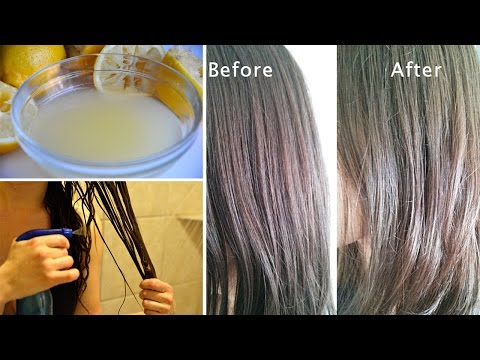 8 Natural Ways to Lighten Hair at Home