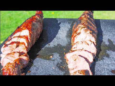 Grilled Pork Loin on the BBQ | How to Grill Pork Tenderloin