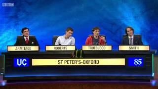 Download University Challenge S44E05 St Peter's - Oxford vs Sussex Video