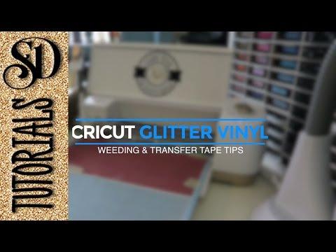 Cricut Glitter Vinyl tips