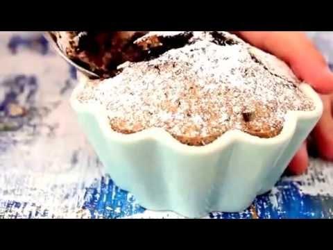 Banana Cake Recipe with peanut butter & dark chocolate
