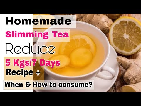 Homemade Slimming Tea for extreme Weight loss || Loose 5Kgs in 7 Days