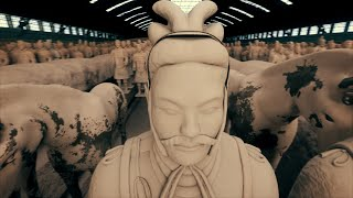 See The Chinese Terracotta Army As It Originally Appeared... In Stunning Colors