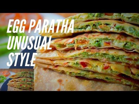 How to make egg paratha at home step by step | Anda Paratha