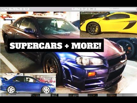R34 GTR, McLaren 650S, Built Evo 9 and Project E36 Update!