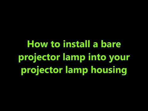 Cost-saving when you purchase bare projector lamp