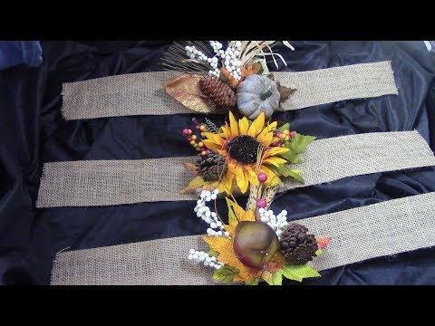DIY Fall Curtain Tiebacks- Three Designs/Pier I Imports Inspired