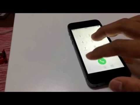 Japan au(KDDI) No contract SIM card insert with my iPhone5s  and Make call,connect internet.