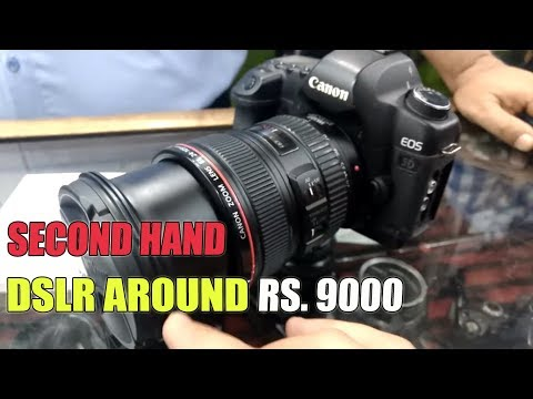 Second Hand DSLR Market | Hyderabad | Buy DSLR in Cheap Price | Sumeet Suthar