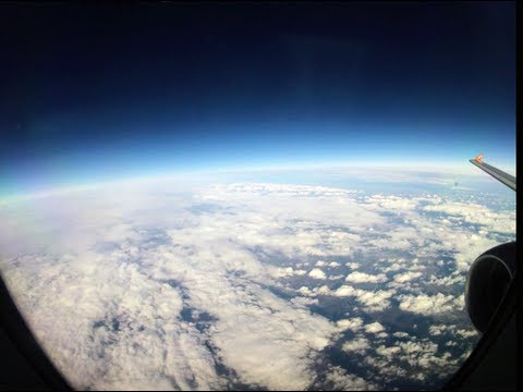 Gopro Hero 2 HD - Flight Time Lapse HD Bulgaria to Manchester UK