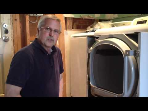 Clothes Dryer Front Panel Removal: Samsung DV5451AGW XAA01