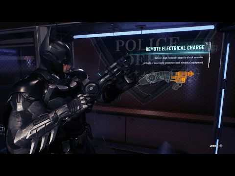 BATMAN: ARKHAM KNIGHT- How To Find The Remote Electrical Charge