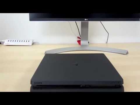 Ps4 slim VS ps4 - Battle video