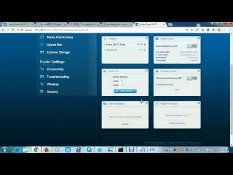 How to login in to linksys router -
