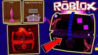(Code) NEW MYTHICAL REALM, NUKE, AND LEGENDARY CHESTS IN ROBLOX TREASURE HUNT SIMULATOR!
