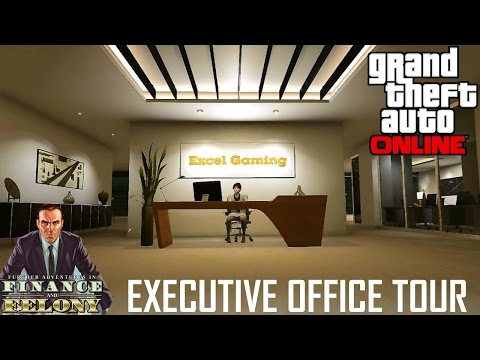 GTA Online - F&F - Executive Office Tour