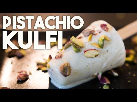 Pistachio Kulfi - Shortcut recipe